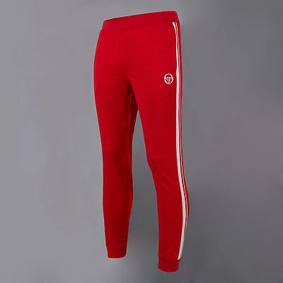 Sergio Tacchini Mens Young Line Pro Pants Trousers Bottoms Red Sports Tennis