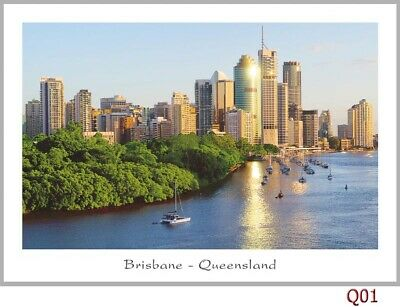 10 Postcards collection of Brisbane, Queensland
