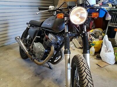 Honda CM200 1980 Custom cafe racer project