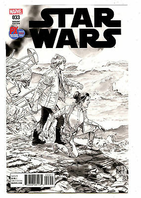 Marvel - Star Wars #33 Px Exclusive San Diego Comic Con 2017 Limited To 5000