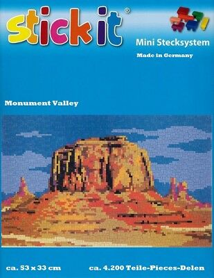 Mini Stecksystem Monument Valley ca. 4.200 Teile Nr. 41180