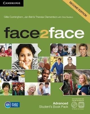face2face Advanced Student's Book with DVD-ROM and Online Workbook Pack by Cunni