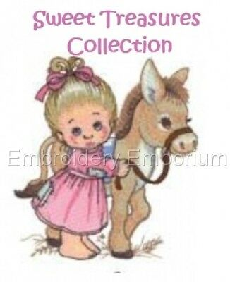 Sweet Treasures Collection - Machine Embroidery Designs On Cd