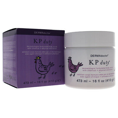 DERMAdoctor KP Duty Dermatologist Formulated Body Scrub 472.0 ml Skincare