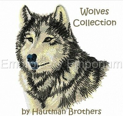 Wolves Collection Hb2 - Machine Embroidery Designs On Cd