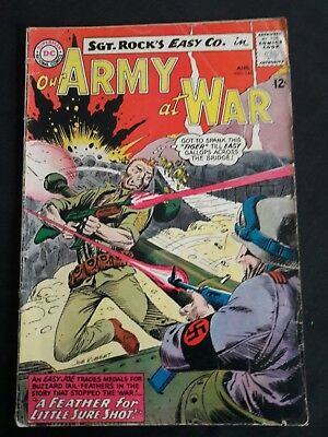 OUR ARMY AT WAR #145 , Joe Kubert c/a, Sgt. Rock's Easy Co., DC Comics 1964