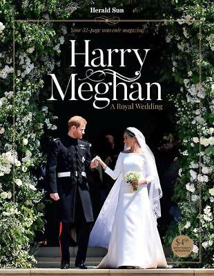 Harry & Meghan A Royal Wedding 52 Page Glossy Souvenir Magazine Herald Sun 2018