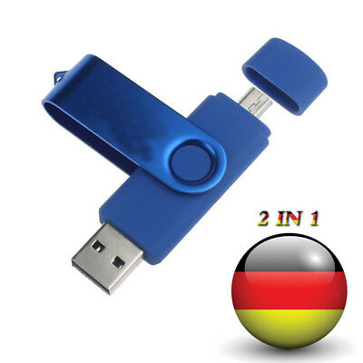 64 GB USB-Sticks USB Flash Drive Speicher Stick U Disk Verbindung Handy 2 IN 1