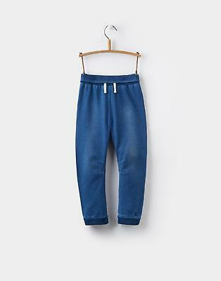 Joules Hugo Jersey Denim Joggers in DENIM