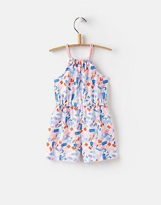 Joules Delphi Jersey Playsuit in Lolly Ditsy