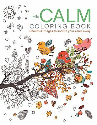 The Calm Adult Colouring Coloring Book 128 Pages Color Books Anti Stress