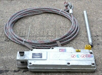 Tractel Tirfor T532D 3200KG Winch Cable Wire Rope Turfor Grip Hoist