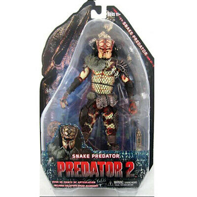 "NECA Predator 2 Snake Predator Series 5 7"" Action Figure Movie Collection New"