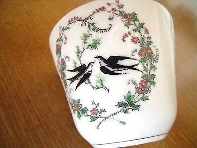 Ancienne TASSE Porcelaine Hirondelle / coffee Cup Swallow / Limoges PARIS