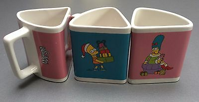 Lot de 3 tasses The Simpsons