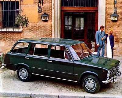 1972 Fiat Seat 124 124D Station Wagon Factory Photo c2054-CAC9EA