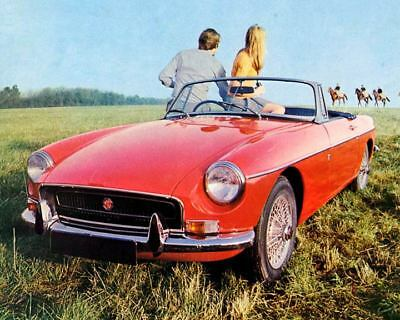 1971 MG MGB Factory Photo c2755-APTQLW