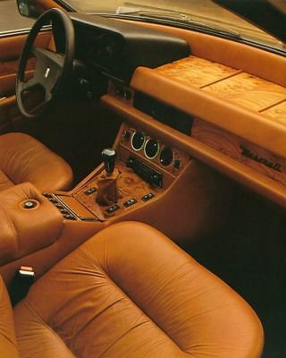 1979 1980 Maserati Quattroporte Interior Factory Photo c2847-PVWODR