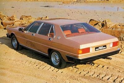 1979 1980 Maserati Quattroporte Factory Photo c2848-4Z7GTA