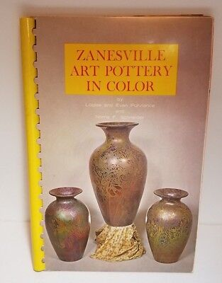 Zanesville Art Pottery In Color by Purviance & Schneider (1968) Full Color