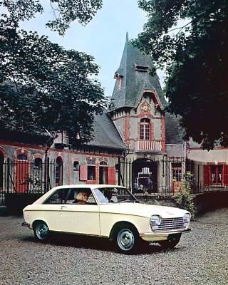 1967 Peugeot 204 Coupe Pininfarina Factory Photo c2938-Y1TCGR