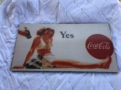 Yes Coca Cola Sign