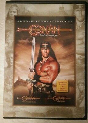 Conan: The Complete Quest (DVD, 2004, Doublesided)