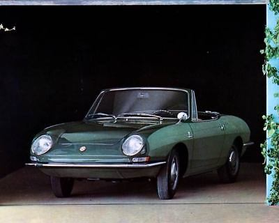 1968 Fiat 850 Spider Factory Photo c3182-3RBWR5