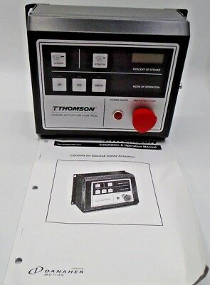 Thomson Mcs-2051 Linear Actuator Control Installation & Operation Manual New *21