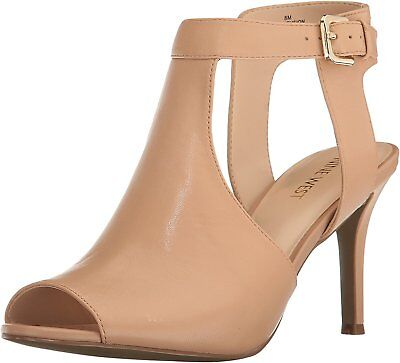 1685abc436f NINE WEST WOMENS infusion Leather Peep Toe Ankle Strap D-orsay Pumps ...