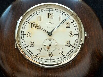 Omega 8 day´s ships clock, issued to the Royal Swedish Navy! from 1946!