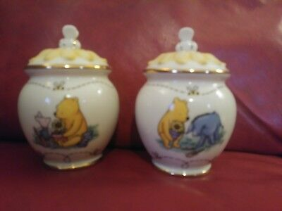 lenox wennie the pooh salt and pepper shakers