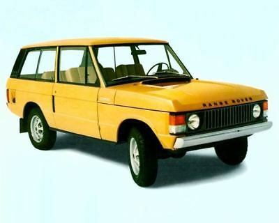 1975 1976 Range Rover Factory Photo c4507-ZWUSA2