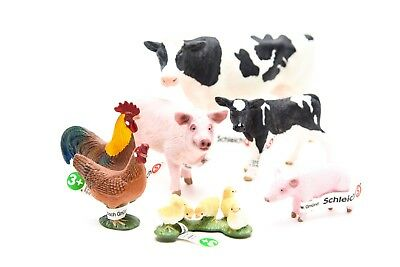 Schleich World of Nature Farm Animals Series 2 | 7 Piece Set