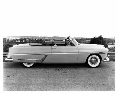 1954 Hudson Hornet Convertible Factory Photo c5249-7URQSW