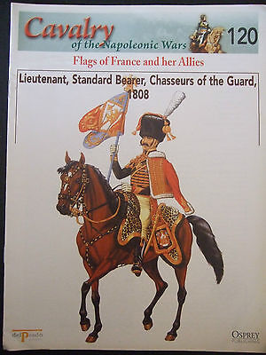 DEL PRADO- CAVALRY-NAPOLEONIC WARS -No 120 FLAGS OF FRANCE AND HER ALLIES