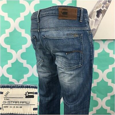 a596c17201b MEN'S G-STAR RAW 3301 Unit Bootcut Relaxed Jeans - Size 36 x 34 ...