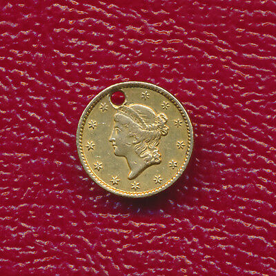 1849 $1 Gold Dollar Coin ~Type One~ **nicely Circulated**