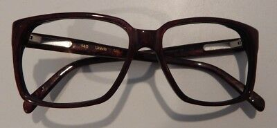 Vintage Univis Bronzini Wine Winter 56/17 Men's Eyeglass Frame New Old Stock