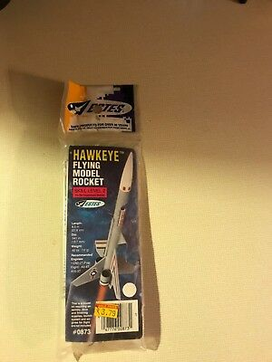 Vintage~Unopened~Original  Year 1986~Estes Hawkeye~Rocket Model #0873