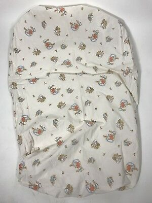 Beatrix Potter Peter Rabbit Fitted Crib Sheet Toddler Bed Small EUC