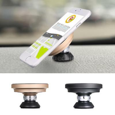 Qi Wireless Car Charger Charging Magnetic Mount Holder Dock For iPhone X 8+ A9D0