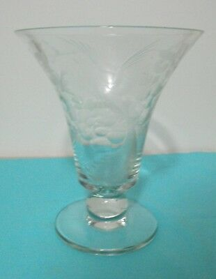 Stunningly Beautifully Etched and Engraved Vase - Possibly Pairpoint