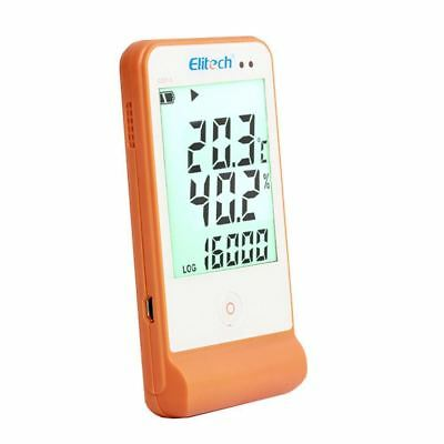 Elitech GSP-6 Temperature and Humidity Data Logger Recorder Refrigeration Chain
