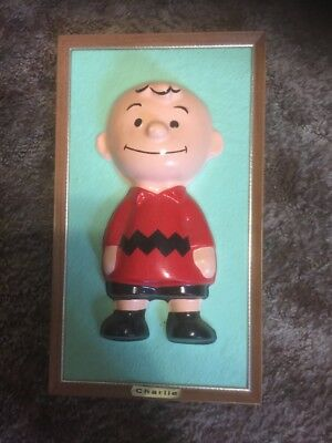 Vintage 1965 Charlie Brown Peanuts Character Schultz Picture Rare Snoopy