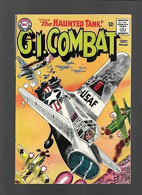 G.I. COMBAT #101 The Haunted Tank, WAR, DC Comics, 1963