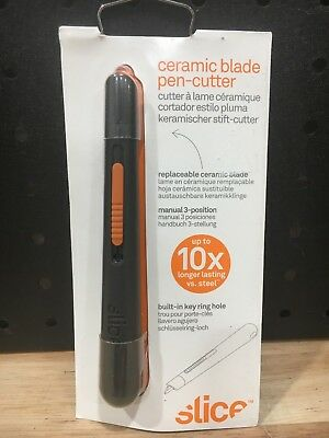 Slice Ceramic Blade Pen-Cutter - 10404 -New Rrp $25