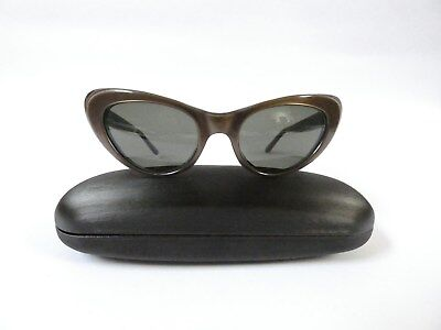 Genuine Vintage Cat Eye Sunglasses. Circa 1960's. Made in Australia.