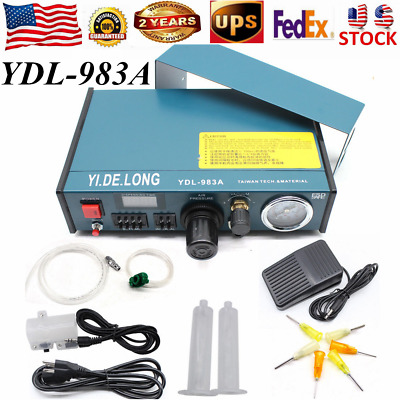 YDL-983A Solder Paste Auto Glue Dispenser Dropper Liquid Dispenser Controller US