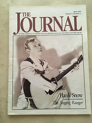 The Journal Of The Academy For The Preservation Of Old Time Country Music